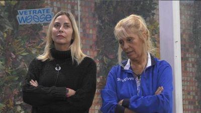 Il chiarimento fra Stefania Orlando e Maria Teresa Ruta