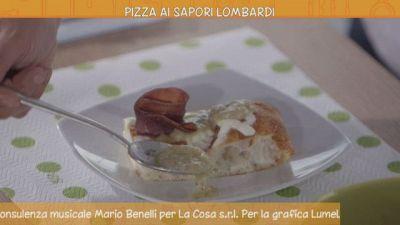 Pizza ai sapori lombardi