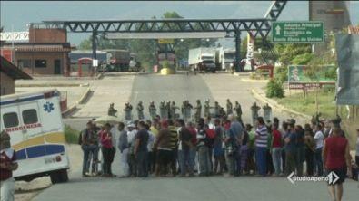 """Maduro """"chiude"""" il Venezuela"""