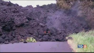Fuoco nell'oceano, fa paura il Kilauea