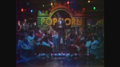 """Bobby Solo canta """"Non posso perderti"""" a Popcorn 1981"""