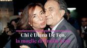 Chi era Diana De Feo, la moglie di Emilio Fede