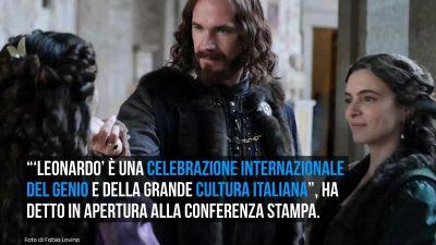 'Leonardo': numeri e nomi della serie evento dedicata al genio