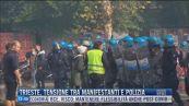 Breaking News delle 14.00 | Trieste, tensione tra manifestanti e polizia