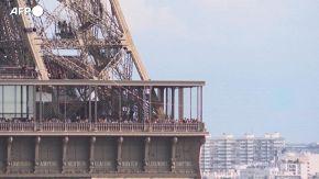 La traversata del funambolo francese Nathan Paulin: una camminata di 600 metri