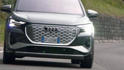 Il test drive del primo Suv elettrico della storia di Audi