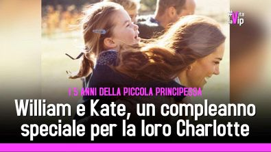 William e Kate, compleanno speciale per la loro Charlotte