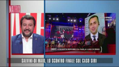 Salvini-Di Maio, lo scontro finale sul caso Siri
