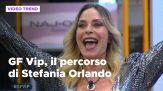 GF Vip, il percorso di Stefania Orlando