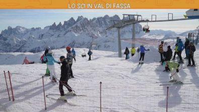 Lo sci in Val di Fassa