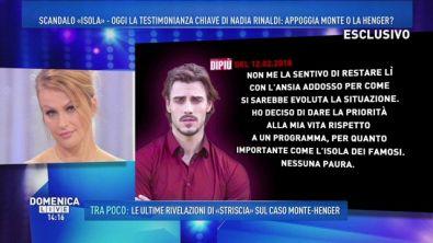 Le dichiarazioni di Francesco Monte