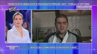 """Santo: """"Insultato e picchiato perché gay!"""""""