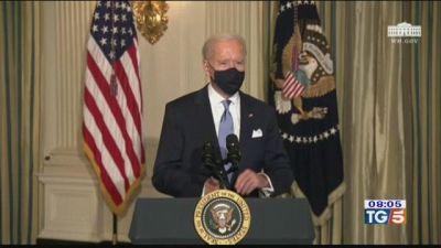 Biden ha giurato, subito 17 provvedimenti