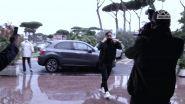 """Totti al Gemelli da Ilenia: """"Molto emozionante"""""""