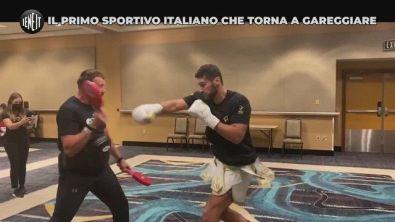 Il ritorno sul ring del pugile Guido Vianello