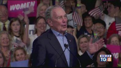 Bloomberg si ritira e sostiene Biden