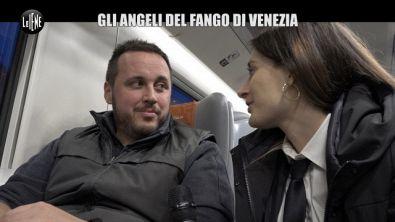 MARTINELLI: Venezia sott'acqua: gli angeli del fango e la foto dell'elettricista