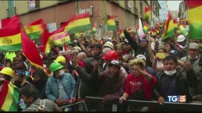 Bolivia, cresce la protesta