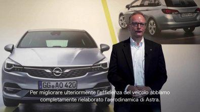 Nuova Opel Astra. Efficienza ai massimi livelli