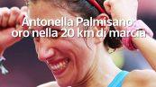 Antonella Palmisano: oro nella 20 km di marcia
