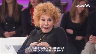 Ornella Vanoni ricorda Gianni Versace
