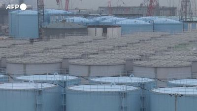 Fukushima, l'acqua contaminata sara' scaricata in mare