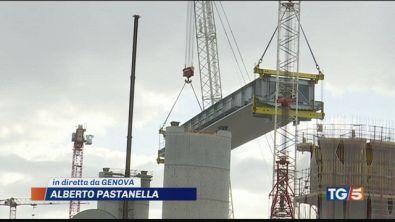 "Ponte, i primi 50 metri ""simbolo di rinascita"""