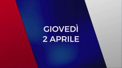 Stasera in Tv sulle reti Mediaset, 2 aprile