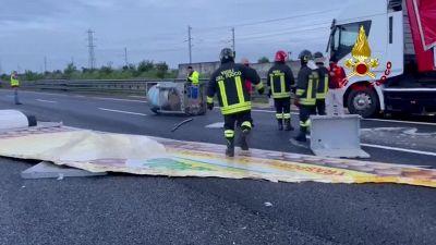 Incidente sull'A1 tra Parma e il bivio per l'A15, fino a 11 chilometri di coda