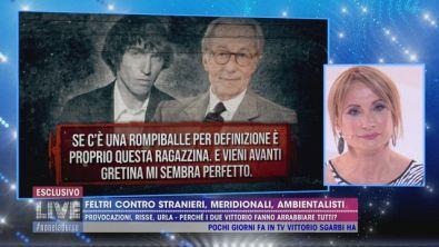Le provocazioni di Vittorio Feltri