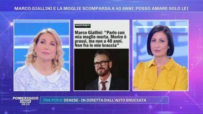 Marco Giallini e la moglie scomparsa a 40 anni