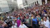 Da Torino a Trieste, le proteste contro il Green Pass