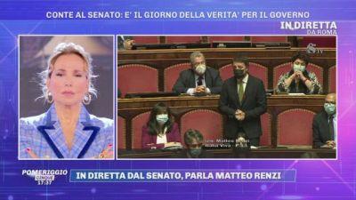 In diretta dal Senato: parla Matteo Renzi