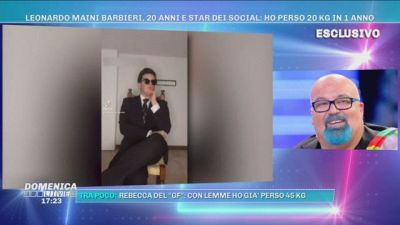 """Leonardo Maini Barbieri """"Ho perso 20 Kg in 1 anno"""""""