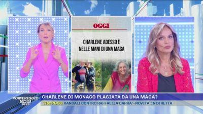 Charlene di Monaco plagiata da una maga?