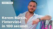 Kerem Bürsin, l'intervista in 100 secondi
