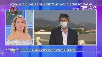 """Coronavirus, il sindaco di Forte dei Marmi: """"mascherine obbligatorie"""""""