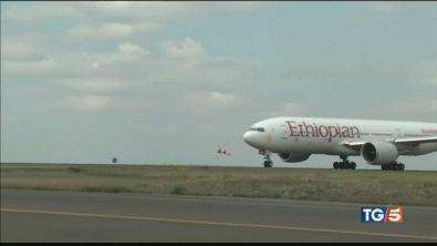 Cade aereo Ethiopian a bordo erano in 157