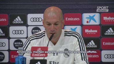 """Zidane: """"CR7 non mi ha sorpreso affatto"""""""