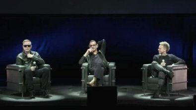 La conferenza stampa dei Depeche Mode