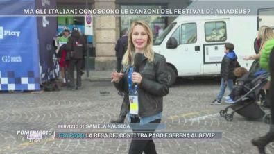 Sanremo: gli italiani quali canzoni cantano?