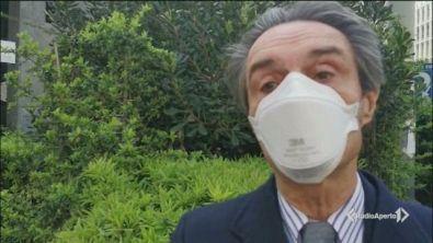 Mascherine obbligatorie in Lombardia