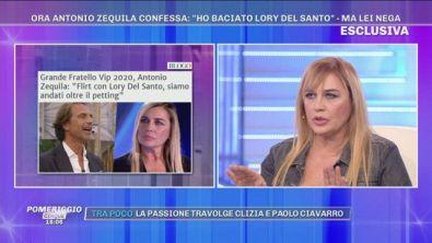 """Lory Del Santo: """"Con Zequila ci siamo strusciati ma..."""""""