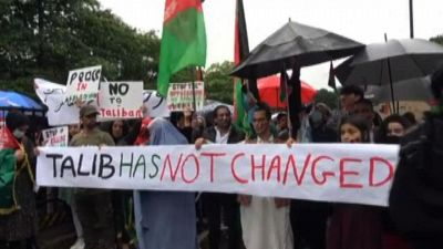 A Londra protesta contro controllo dei talebani sull'Afghanistan