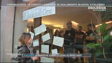 Emergenza Coronavirus: 29 turisti lombardi in Isolamento in hotel a Palermo