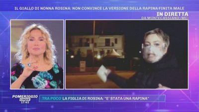 Il mistero di nonna Rosina: ''Nessuna traccia di estranei in casa''