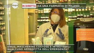 Coronavirus Lombardia, gratis mascherine in farmacia