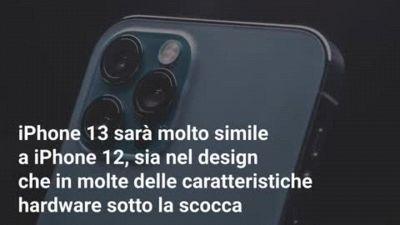 IPhone 13: come sarà