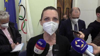 """Vezzali: """"Riapertura per Europei segnale per tutto il mondo dello sport"""""""