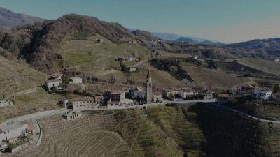 Rolle, lo splendido borgo nelle colline del Prosecco